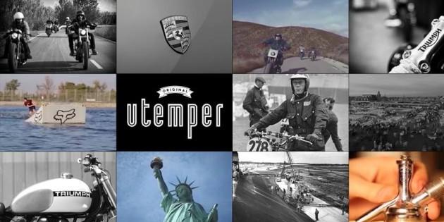 UTemper Magazine, nueva revista para iPad sobre cultura Cafe Racer