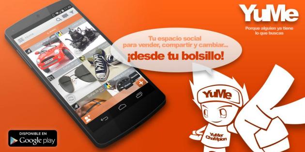 YuMe, una app de segunda mano basada en la confianza
