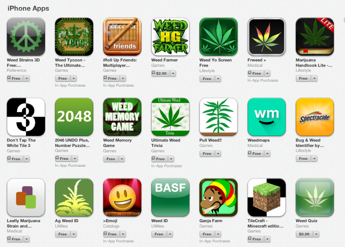 Google veta las apps que facilitan la venta de tabaco, alcohol o marihuana