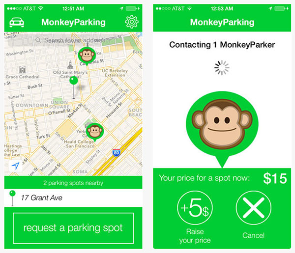 monkey-parking-app