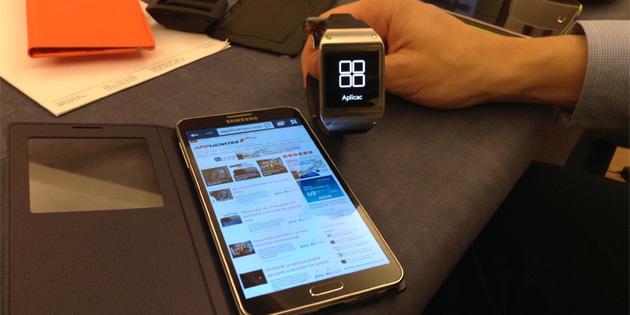 Probamos las apps del Samsung Galaxy Gear y Galaxy Note 3