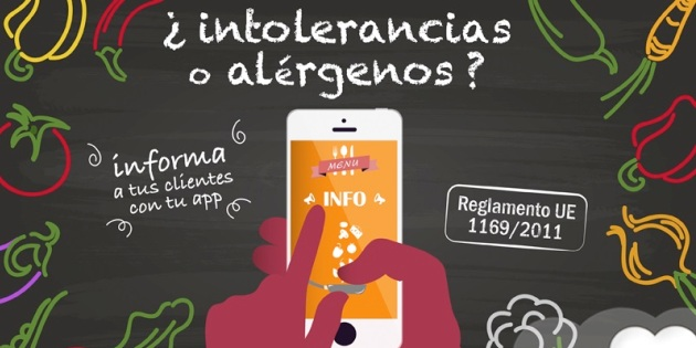 Alérgenos: apps para informar a tus clientes