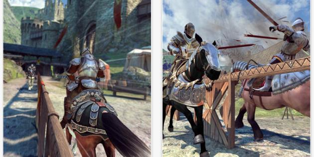 Duelo de caballeros Gameloft iOS Android
