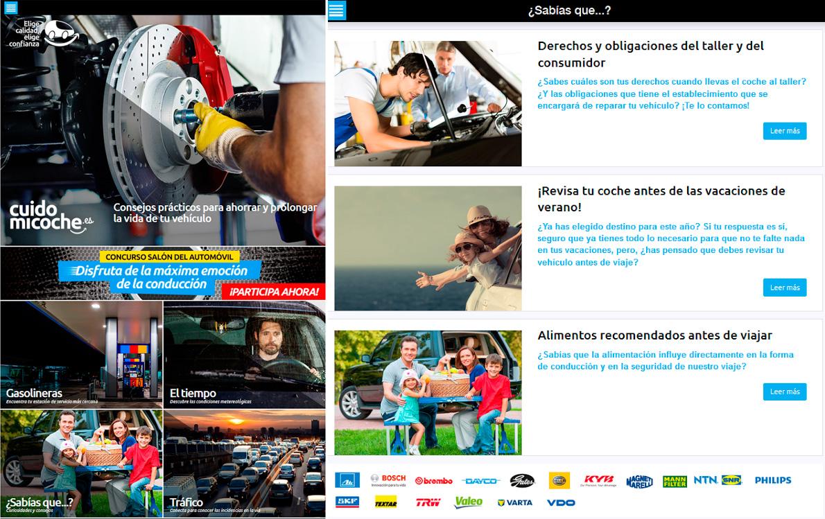 cuidar tu coche app