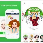 Transfórmate en un sticker de Line con la app Line Selfie Sticker