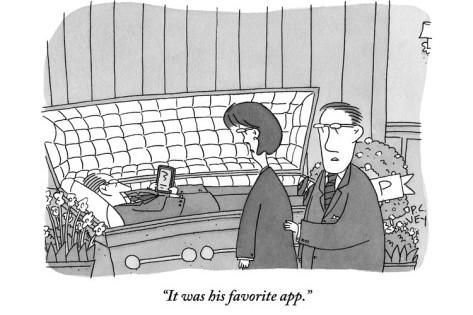 Cómic: Con las apps, hasta la muerte