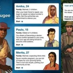 Una app para saber cómo es la vida de un refugiado