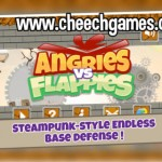 Angries vs Flappies, la batalla aérea definitiva entre pájaros enfadados y torpes