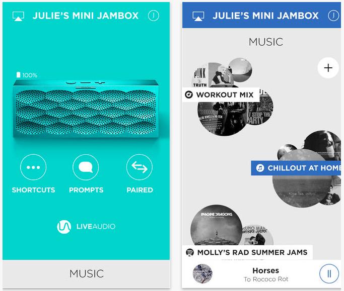 App Jawbone Mini Jambox