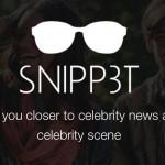 Snipp3t, la app de Microsoft para acercarse a las celebrities