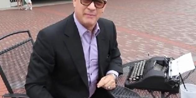 Hanx Writer, la app con la que Tom Hanks quiere resucitar la máquina de escribir