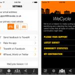 WeCycle, el Waze de los ciclistas