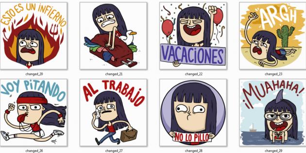 Stickers para la vuelta al cole en la nueva versión de Line para iOS y Android
