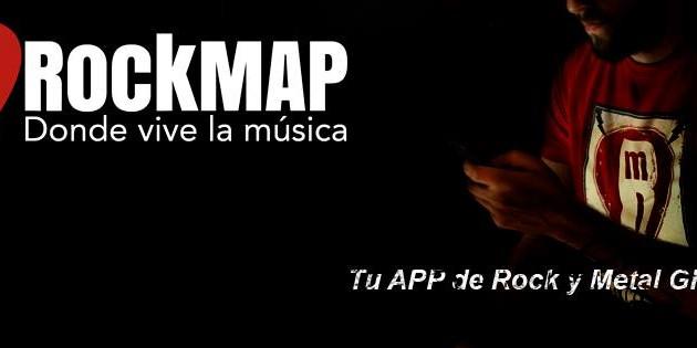 RockMAP extiende el mundo del rock y el metal a Alemania, Francia, Suiza, Austria y Bélgica para iOS y Android