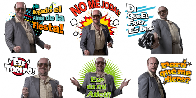 Stickers Torrente 5 LINE 1