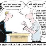 Cómic: El peligro de usar apps al volante