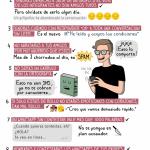 Cómic: Guía práctica para el buen uso de WhatsApp