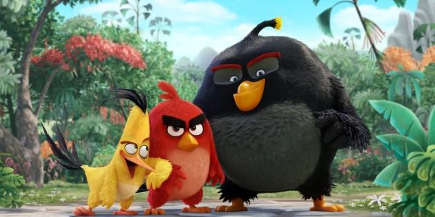 Primera imagen oficial de la película de Angry Birds