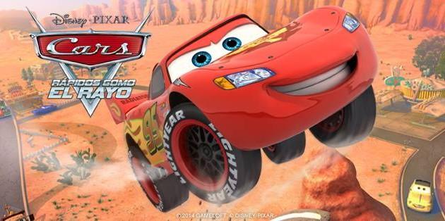 Rayo McQueen llega a iOS, Android y Windows Phone con el juego oficial de Cars