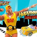 Hulk Hogan se estrena como taxista en Crazy Taxi City Rush