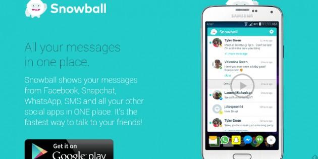 Snowball, el lugar donde se reúnen todas tus apps de mensajería instantánea