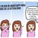 Cómic: WhatsApp, el medio de comunicación de nuestros días