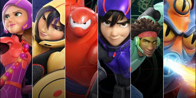 Big Hero 6 Bot Fight, superhéroes que son una joya
