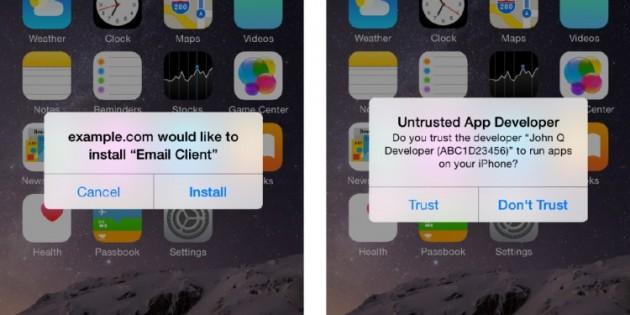 La respuesta oficial de Apple al Masque Attack