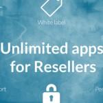 GoodBarber permite a los resellers crear apps ilimitadas