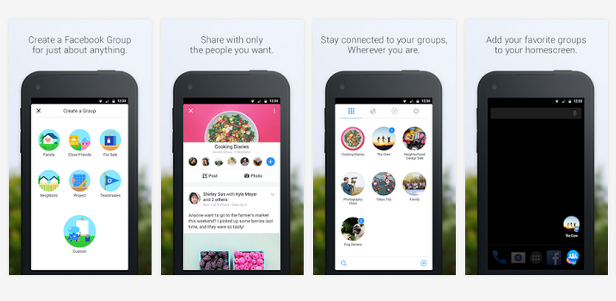 Facebook mata sus aplicaciones Lifestage y Groups