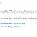 Cambios de precios en la App Store en Europa por la regulación sobre el IVA