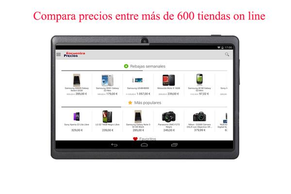 compara precios tiendas on line applicantes