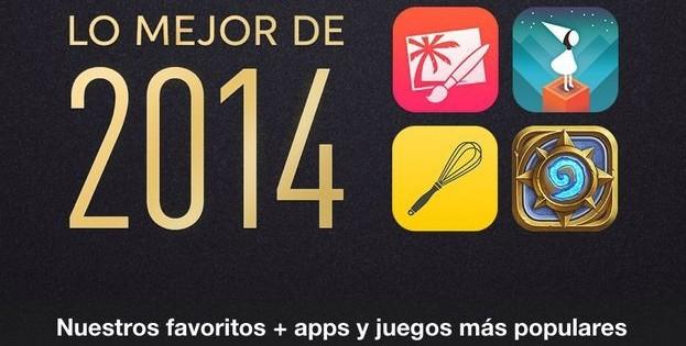 Las mejores apps iOS de 2014 en España