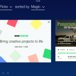 Kickstarter para iOS se actualiza con nuevo diseño