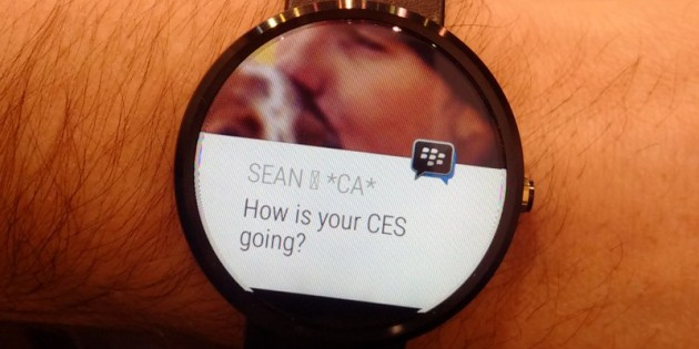 BBM prepara su llegada a Android Wear