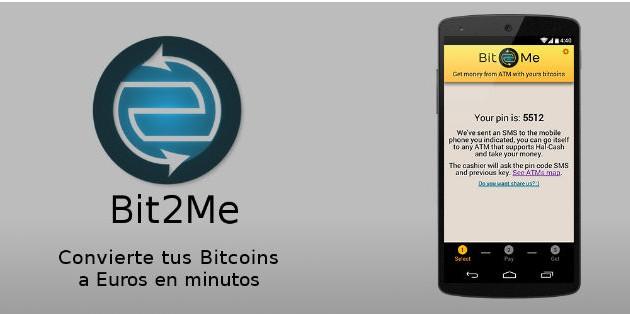 Bit2Me permite extraer Bitcoins en los cajeros automáticos