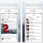 Facebook at Work, la red social para empresas de Facebook, llega a iOS y Android