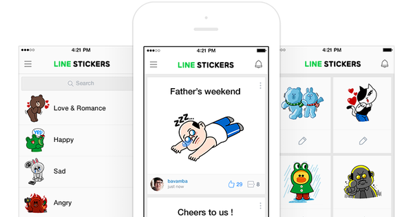 La obsesión por las pegatinas tiene nombre: Line Stickers