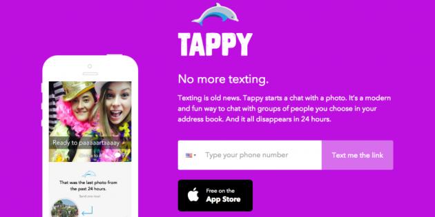 Tinder adquiere la aplicación de mensajería efímera Tappy