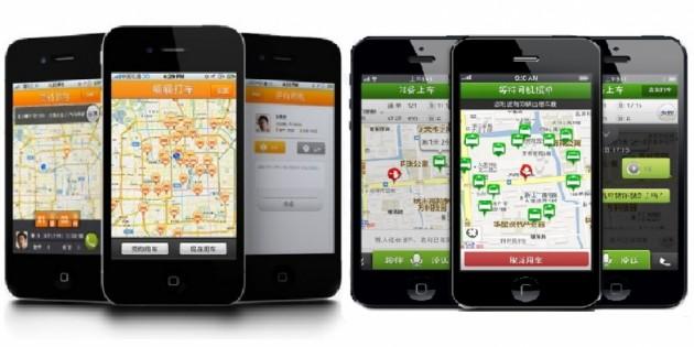 Fusión entre las apps de taxis chinas: Kuaidi Dache y Didi Dache serán una