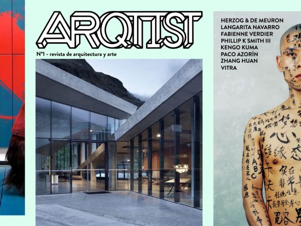 ARQTIST revista de Arquitectura y Arte iPad Android