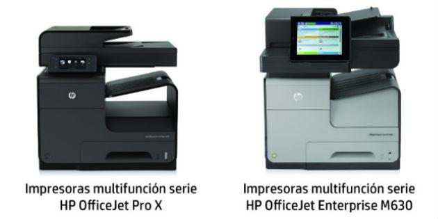 Con la tecnología de impresión HP PageWide, la letra con tinta entra