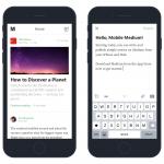 La app de Medium para iOS ya permite publicar posts directamente