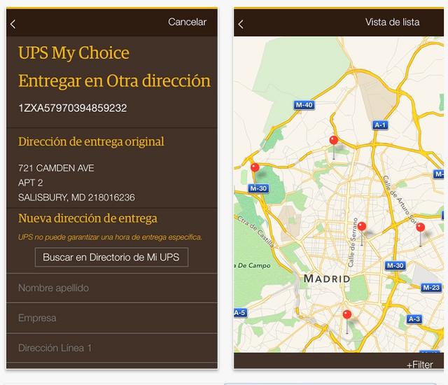 UPS-app