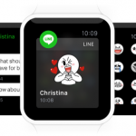Stickers en tu muñeca: Line da el salto al Apple Watch