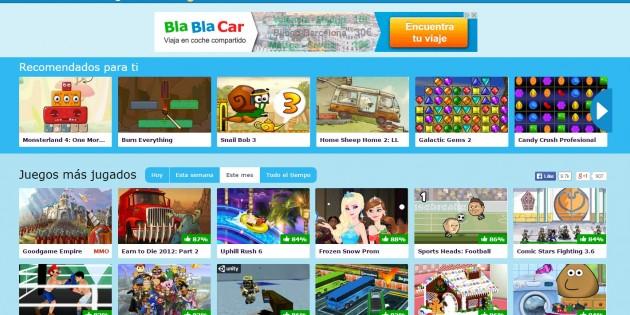 PaisdelosJuegos, mobile games desde tu navegador