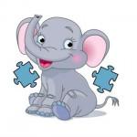Un juego de puzles enseña animales a niños de hasta 4 años
