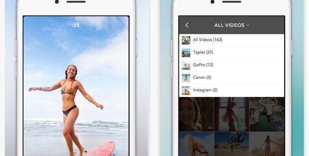 Taplet te permite tomar pantallazos de tus vídeos y editarlos