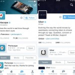 Incluir una app en el perfil de Twitter sería posible en breve