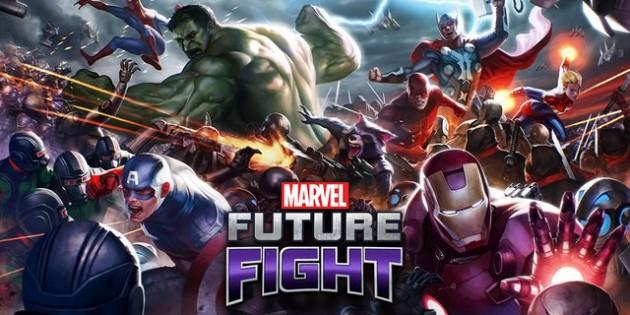 Marvel Future Fight, cuando los titanes luchan a tiempo completo